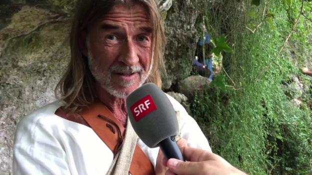 Video «In dieser Höhle schläft Ralph Wicki» abspielen