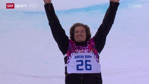 Video «Snowboard: Halfpipe-Final der Männer» abspielen
