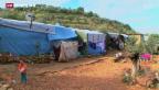 Video «Syrische Flüchtlinge sterben in der Kälte» abspielen