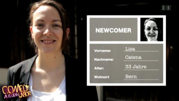 Video «Newcomer Porträt - Lisa Catena» abspielen
