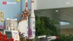 Video «USA warnen Nordkorea eindringlich vor dem Start einer Mittelstreckenrakete» abspielen