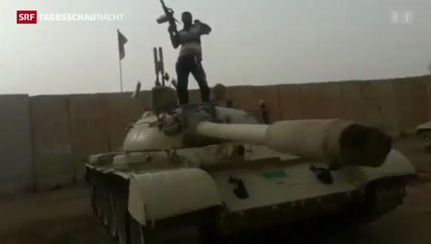 Video «USA lässt sich mit Hilfe für Irak Zeit» abspielen