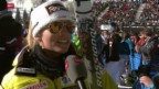 Video «Ski: Siegerinterview mit Lara Gut» abspielen