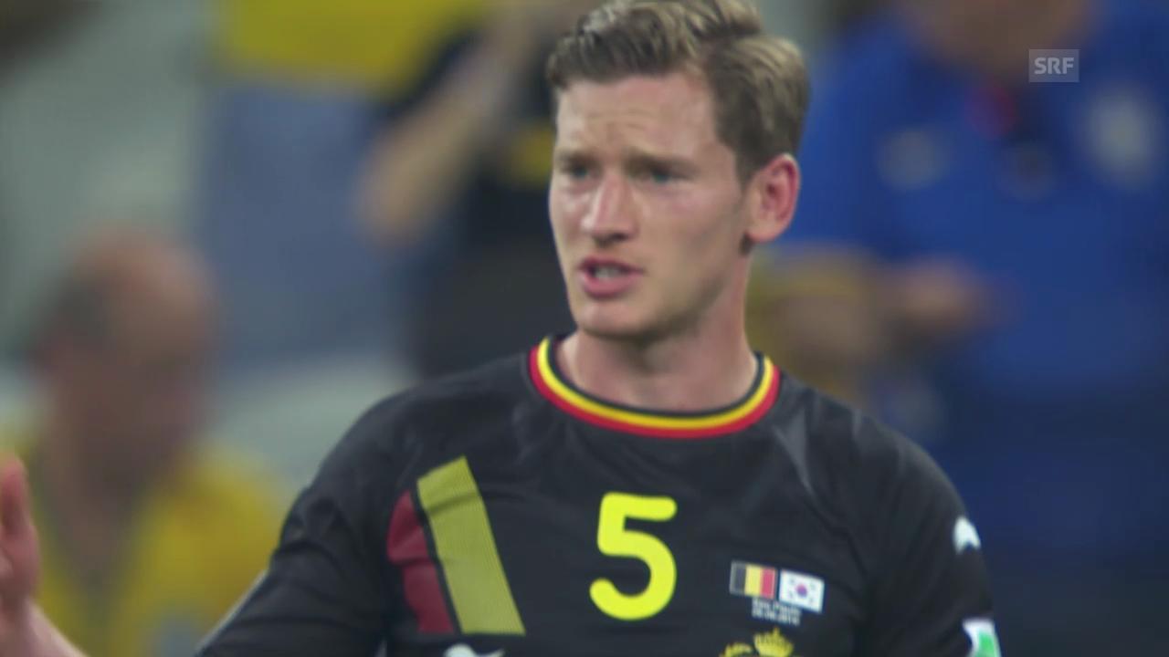 Südkorea - Belgien: Die Live-Highlights