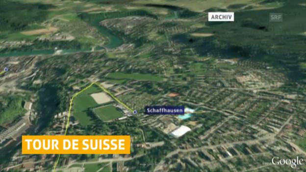 Video «Schaffhausen als TdS-Schlusspunkt» abspielen