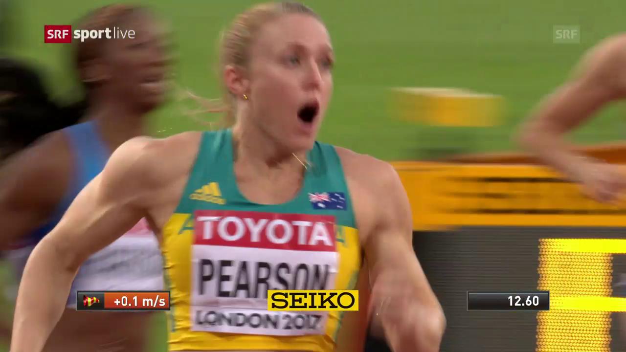 100 m Hürden: Gold für Sally Pearson