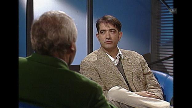 Video «Gespräch mit Samir über Heimat (Sonntagsinterview 12.6.1994)» abspielen