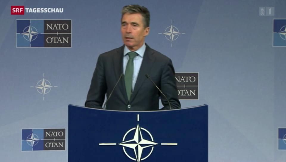 Nato legt Russland-Zusammenarbeit auf Eis
