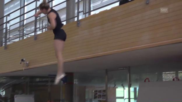 Video «Giulia Steingrubers neuer Sprung» abspielen