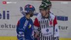Video «Eishockey-Schiedsrichter im Playoff-Final: gefragt und gefordert» abspielen