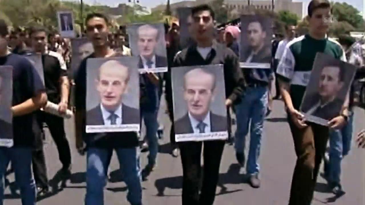 Hafiz al-Assad beherrschte Syrien 30 Jahre mit grosser Brutalität