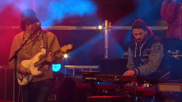 Video «Pablo Nouvelle - live bei «Jeder Rappen zählt»» abspielen