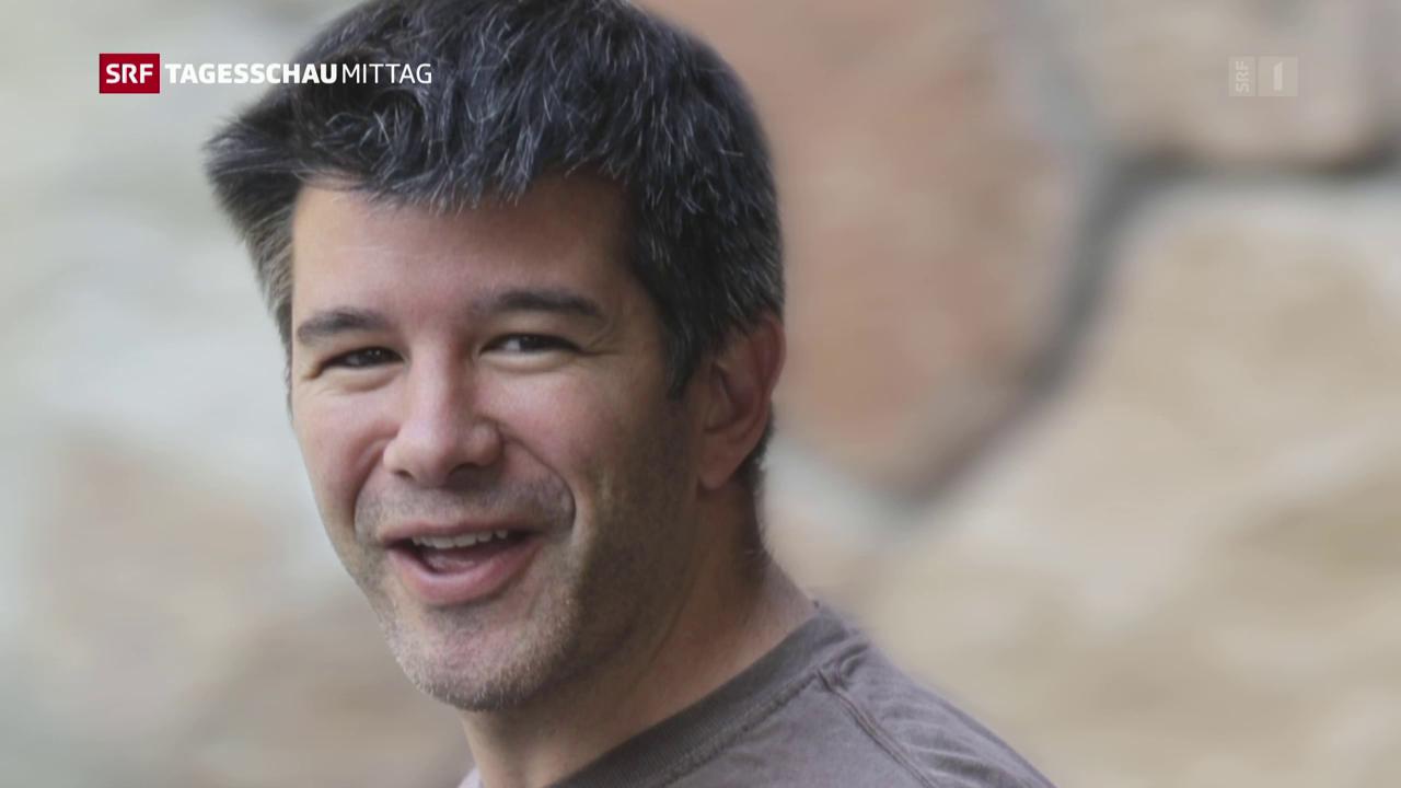 Uber-Chef tritt zurück