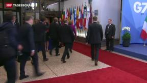 Video «Auftakt des G7-Gipfels ohne Russland» abspielen