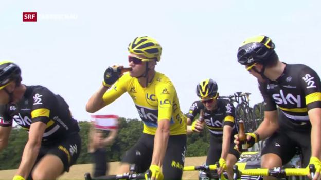 Video «Froome gewinnt Tour de France» abspielen