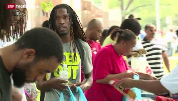 Video «Auf den Spuren der Rassenprobleme in Ferguson» abspielen