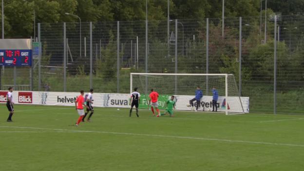 Video «Lausanne siegt bei YF Juventus» abspielen
