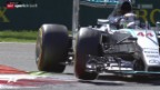 Video «Formel 1: Qualifying in Monza» abspielen