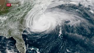 Video «Hurrikan «Florence» in den Vereinigten Staaten» abspielen