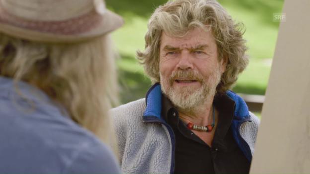Video «Der Meisterfälscher (2/5) – Reinhold Messner» abspielen