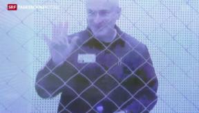 Video «Nach 10 Jahren Haft frei» abspielen