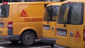 Video «Sika: Verkauf schockt Management» abspielen