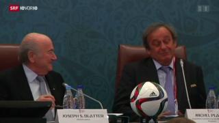 Video «Fifa-Präsidentschaftswahl bleibt wie geplant» abspielen