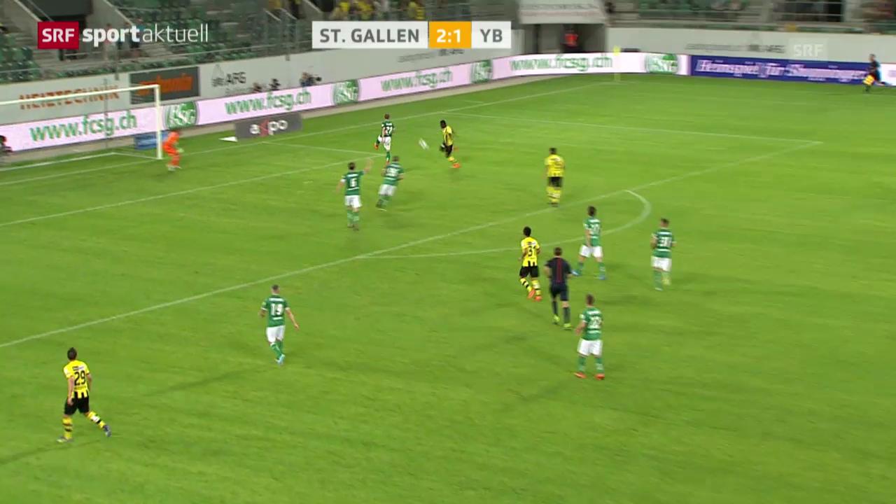 Fussball: Samuel Afums Ausgleich mittels Direktabnahme («sportaktuell»)