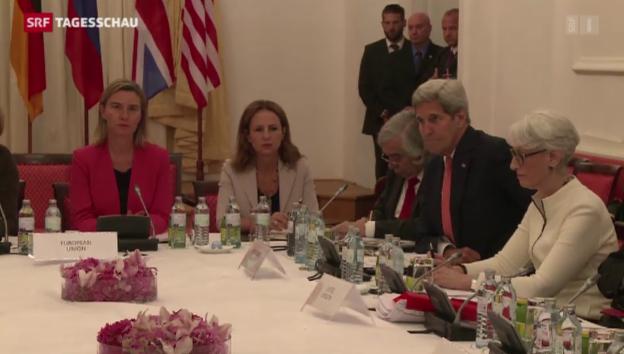 Video «Atomdeal mit Iran zieht sich dahin» abspielen