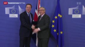 Video «Brexit-Gespräche » abspielen