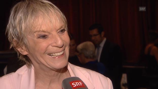 Video «Ursula Schaeppi über ihre Zukunft» abspielen