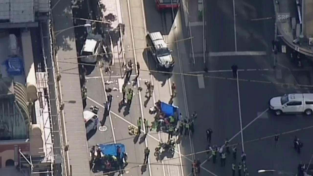 Mehrere Verletzte in Melbourne (unkomm.)