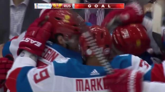 Video «Russland behält gegen Nordamerikas Youngsters die Oberhand (SNTV)» abspielen