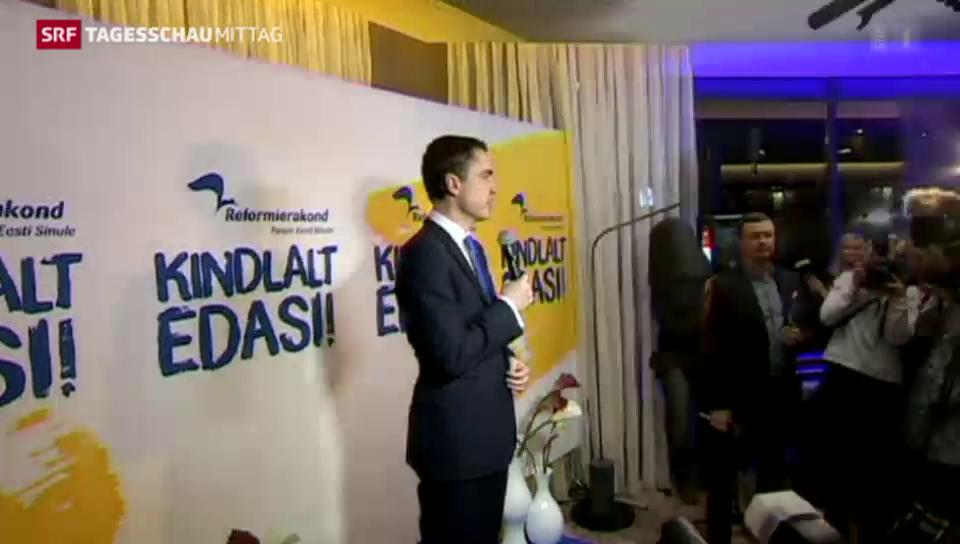 Prowestliche Partei gewinnt Wahlen in Estland
