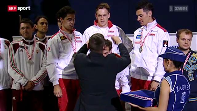 Fecht-EM: Team-Wettbewerb