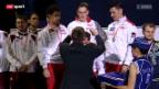 Video «Fecht-EM: Team-Wettbewerb» abspielen