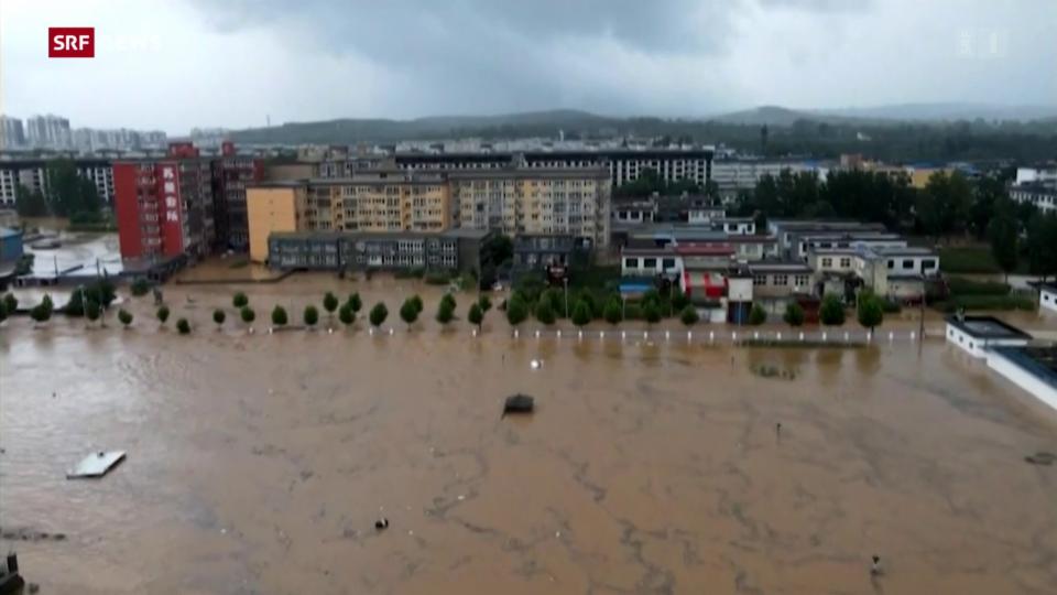 Archiv: Tote und Vermisste nach Überschwemmungen in Zhengzhou