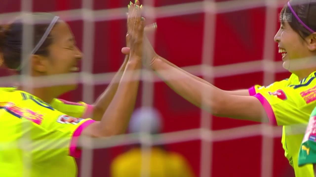 Fussball: Frauen-WM, Zusammenfassung Japan-Kamerun