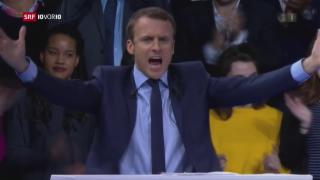 Video «Emmanuel Macron – der Mann in der Mitte» abspielen