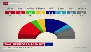 Video «EU-Kritik prägt Europawahlen» abspielen