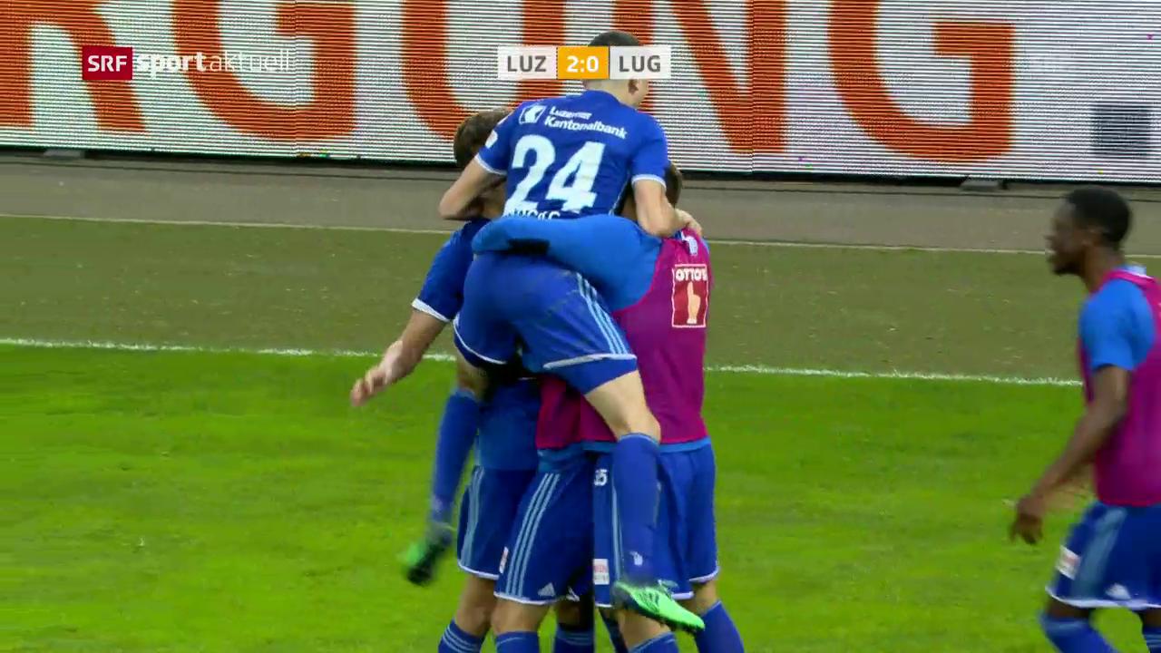 Luzerner Heimsieg gegen Lugano