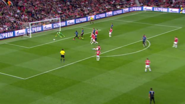 Video «Fussball: CL-Playoff-Hinspiel Manchester - Brügge» abspielen