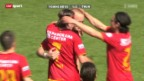 Video «Super League: YB - Thun» abspielen