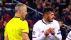 Video «Fussball: Basel vor dem CL-Spiel gegen ZSKA Moskau» abspielen
