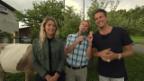 Video «Wettaufgabe mit DJ Antoine und Laura Zurbriggen» abspielen