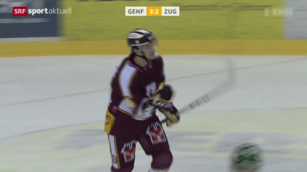 Video «Eishockey: Genf - Zug» abspielen