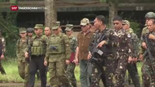 Video «Marawi aus den Fängen des IS befreit» abspielen