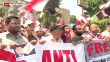 Video «Ägyptens Muslimbrüder geben icht auf» abspielen
