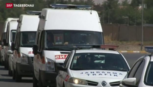 Video «PKK-Angriff auf türkischen Militärkonvoi» abspielen