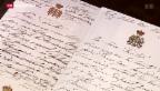 Video «Unerwartet hoher Preis für Zaren-Briefe» abspielen